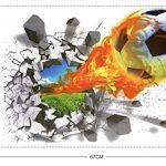 Beyond Paradise Graz Design Sticker Mural Autocollant 3D Motif Football de la marque Beyond Paradise image 2 produit