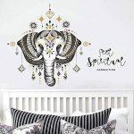 Beyond Stickers muraux Motif éléphant Oriental de la marque Beyond Paradise image 2 produit