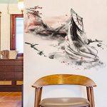 Bomeautify La beauté de lac de style chinois peut enlever la créativité les autocollants de mur les papiers autocollants les murs les papiers peints de la marque Bomeautify image 2 produit
