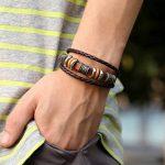 Bracelet en Cuir ou Corde pour Homme et Femme de la marque France+en+Stock image 4 produit