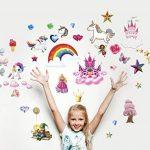 Bumblebee Impression arc-en-ciel Licorne Stickers muraux Princesse Couleurs complète de la marque BumbleBee Print image 4 produit