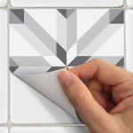 Carreaux de ciment adhésif mural - azulejos - 15 x 15 cm - 30 pièces de la marque Ambiance-Live image 2 produit