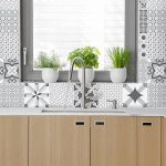 Carreaux de ciment adhésif mural - azulejos - 20 x 20 cm - 30 pièces de la marque Ambiance-Live image 1 produit