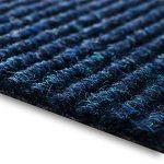 casa pura Dalles Moquette Merci | Lot de 1m², 3m² + 5m² - 5 Coloris | Autocollant et résistant | Feutre aiguilleté amortissant | 50x50cm | Bleu, 3m² (12 pièces) de la marque casa-pura image 3 produit