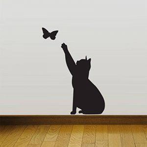 Chat Contagieux Accueil mur Autocollant Décor Décalcomanies Mural Cuisine Animal de compagnie de la marque Wall4stickers image 0 produit