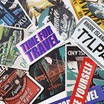 Chileeany Lot de 35 Rétro Vintage Stickers Valise Autocollants pour Valise Voyage Skateboard Guitare(World Tour) de la marque Chileeany image 1 produit