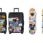 Chileeany Lot de 35 Rétro Vintage Stickers Valise Autocollants pour Valise Voyage Skateboard Guitare(World Tour) de la marque Chileeany image 3 produit