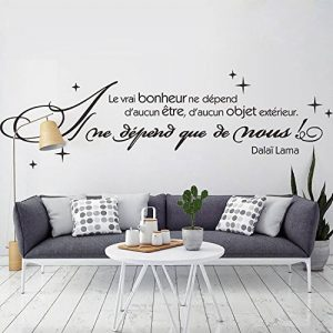 citation stickers chambre TOP 6 image 0 produit