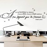 citation stickers chambre TOP 6 image 1 produit