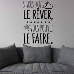 citation stickers chambre TOP 8 image 2 produit