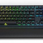 Clavier mécanique Fnatic Streak Pro Gaming Esports (Touches Cherry MX Rouge Silent, éclairage Multicolore LED (RGB), Repose-Poignet érgonomique, programmable) Disposition-FR de la marque Fnatic image 1 produit