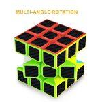Cube Magique, Gritin 3x3x3 Speed cube de Vitesse Magique Lisse Facile à Tourner pour Jeu d'entraînement Cérébral ou Cadeau de Vacances de la marque Gritin image 4 produit