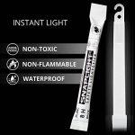 Cyalume Bâton lumineux blanc SnapLight Glow Sticks 15cm, Light Sticks très lumineux avec durée de 8 heures de la marque Cyalume-Technologies image 1 produit