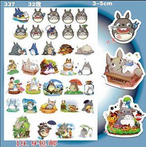 DansLesVapes Lot de 39 Stickers Totoro Haute définition HD Haute qualité (Autres modèles Disponibles) + Offert : 1 raclette de marouflage (40TOTORO1) de la marque DansLesVapes image 0 produit