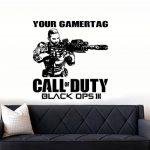 DC Call of Duty Black Ops 3Style PS4Xbox Teen Salle Art Mural en Vinyle Autocollant de la marque DC image 2 produit