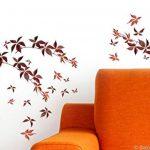 Décoration adhésive 157012 Branches d'automne Polyvinyle, Marron, 21 x 0,1 x 29,6 cm de la marque Décoration adhésive image 4 produit
