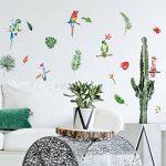 Décoration adhésive 157171 Nature Tropicale Polyvinyle, Multicolore, 21 x 0,1 x 29,6 cm de la marque Décoration adhésive image 1 produit