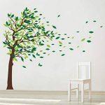 decalmile Stickers Muraux Geant Arbre Autocollant Mural d'arbre Feuilles Salon Chambre Enfant Décor Maison de la marque decalmile image 1 produit