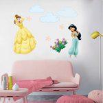 decalmile Stickers Princesse Amovible DIY Autocollant Stickers Muraux pour Bébé Fille Chambre Enfants Pépinière de la marque decalmile image 2 produit