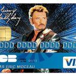 Deco-idees Stickers Autocollant pour Carte bancaire, Johnny Hallyday, 2émé Edit. limitée 300 ex - 1 sur 300 - Autocollant de Haute qualité de la marque Deco-idees image 1 produit