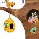 Decowall DL-1709 Arbre Géant Animaux Autocollants Muraux Mural Stickers Chambre Enfants Bébé Garderie Salon de la marque Decowall image 4 produit