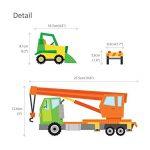 Decowall DS-8012 Site de Construction Voitures Autocollants Muraux Mural Stickers Chambre Enfants Bébé Garderie Salon (Petit) de la marque DECOWALL image 4 produit