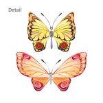 DECOWALL DS-8022 Papillons Aquarelles Autocollants Muraux Mural Stickers Chambre Enfants Bébé Garderie Salon (Petit) de la marque Decowall image 4 produit