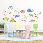 DECOWALL DW-1611S Aventure en Mer Autocollants Muraux Mural Stickers Chambre Enfants Bébé Garderie Salon de la marque Decowall image 4 produit