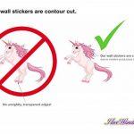 dekodino Sticker Mural étoiles Kit Fille Couleurs en Pastel Ciel étoilé Coller de la marque dekodino image 3 produit