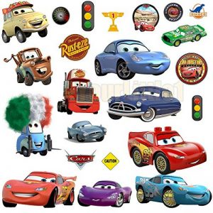 Disney Cars 3?Stickers muraux, Multicolore de la marque Other image 0 produit