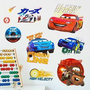 Disney Cars Stickers Muraux 3D, en Vinyle, Multicolore de la marque Disney image 0 produit