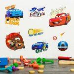 Disney Cars Stickers Muraux 3D, en Vinyle, Multicolore de la marque Disney image 1 produit