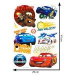 Disney Cars Stickers Muraux 3D, en Vinyle, Multicolore de la marque Disney image 3 produit