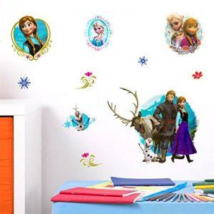 Disney Frozen 3D Stickers muraux, en Vinyle, Multicolore de la marque Disney image 0 produit
