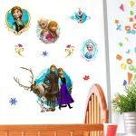 Disney Frozen 3D Stickers muraux, en Vinyle, Multicolore de la marque Disney image 1 produit