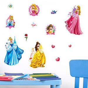 Disney Princesse Stickers muraux 3D, en Vinyle, Multicolore de la marque Disney image 0 produit