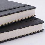 Dotted Bullet Journal/Carnet Pointillé - Journal à Couverture Rigide avec Poche Pour écrire en + Dividers Cadeaux, Bagués, Grand Format, 180 Pages, Noir Dotted Notebook, 5.75 * 8.5inch - Lemome de la marque Lemome image 2 produit