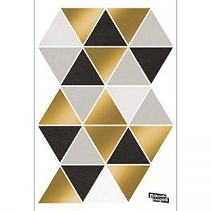 Draeger - Stickers Muraux - Stickers Triangles pour décorer votre intérieur - Adhésifs Déco serigraphiés en papier couché satiné 180g - 2 planches 24 x 32 cm de 48 triangles de la marque DRAEGER PARIS 1892 image 0 produit
