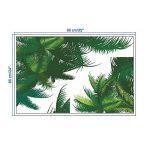 dragonaur Vert Feuilles de Palmier Sticker Mural Adhésif Autocollant Home Decor de la marque dragonaur image 1 produit