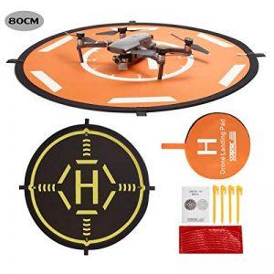 Drone Landing Pad,80cm RC Hélicoptère piste pliable d'atterrissage pour DJI Mavic PRO / Mavic Air / SPARK /Mavic Pro Platinum / Phantom 3 Phantom 4 Inspire 1 Quadcopter de la marque STARTRC image 0 produit