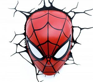 e-concept Distribution France - PDG00000061 - Marvel - 3D Deco Light - Masque Spider-Man - Rouge de la marque 3D Light FX image 0 produit