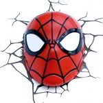 e-concept Distribution France - PDG00000061 - Marvel - 3D Deco Light - Masque Spider-Man - Rouge de la marque 3D Light FX image 3 produit