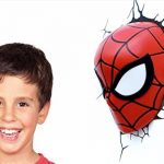 e-concept Distribution France - PDG00000061 - Marvel - 3D Deco Light - Masque Spider-Man - Rouge de la marque 3D Light FX image 4 produit