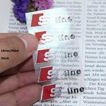E336 5 pièce S Line Autocollants Badge emblème Ligne Autocollant de Voiture de Nickel 3D Nouveau de la marque carsemblème image 1 produit