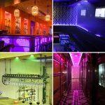 Elfeland Lampe Placard Lot de 6 Veilleuse LED RGB 16 Couleurs Lampes de Nuit sans Fil avec Contrôle Tactile et Télécommande Dimmable Lampe Armoire Alimenté par Batterie Lumière(6 Pack) de la marque Elfeland image 3 produit