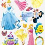 Enfants Stickers MURAUX Grand Disney Mickey Mouse Minnie Autocollants Filles Chambre DE Mur Chambre Decor Décoration Sticker Adhesif Mural Géant Répositionnable (Princess, 70 x 50) de la marque wall-stickers image 1 produit