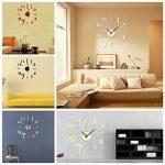 EsportsMJJ DIY Mini Modern Art Miroir Horloge Murale 3D Sticker Design Maison Bureau Décoration-Rouge de la marque EsportsMJJ image 1 produit