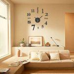 EsportsMJJ DIY Mini Modern Art Miroir Horloge Murale 3D Sticker Design Maison Bureau Décoration-Rouge de la marque EsportsMJJ image 3 produit