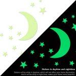 Etoiles Phosphorescentes Plafond, Comius 282 Pcs Étoiles et Lune Autocollants Lumineux, Glow in the Dark Stickers Muraux pour Enfants et décoration pour Chambre à Coucher de la marque Comius image 3 produit