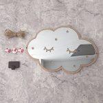 Etopfashion 3D Stickers muraux de miroir de miroir, nuages bricolage acrylique Stickers muraux pour bébé chambre d'enfant décor de chambre de la marque Etopfashion image 3 produit